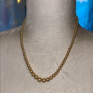 MARVELLA Glass Pearl Necklace